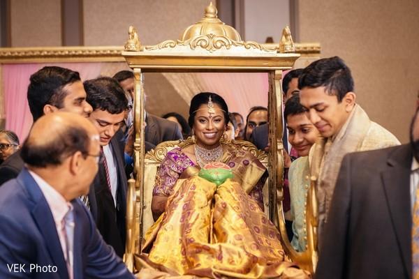 indian bride,indian wedding ceremony,doli entrance