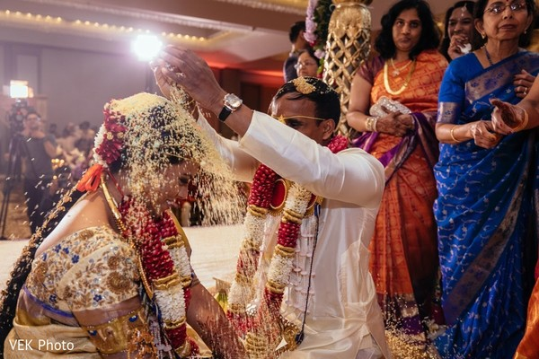indian wedding ceremony,indian bride and groom,telugu ritual