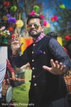 indian groom fashion,pre- wedding celebrations,mehndi party