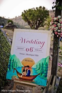 indian wedding ceremony,indian wedding decor,indian wedding planning and design,indian wedding sign