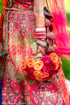 Phenomenal indian bridal bouquet