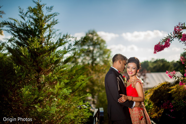 Sweet indian couple in Great Neck, NY Indian Wedding by Origin Photos