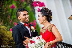 indian couple,indian wedding fashion,indian bride bouquet