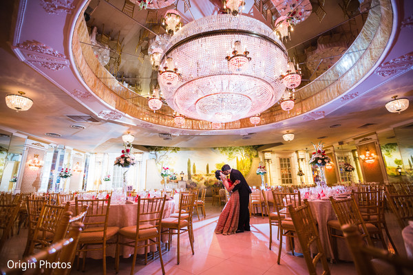 Stunning indian wedding reception venue in Great Neck, NY Indian Wedding by Origin Photos