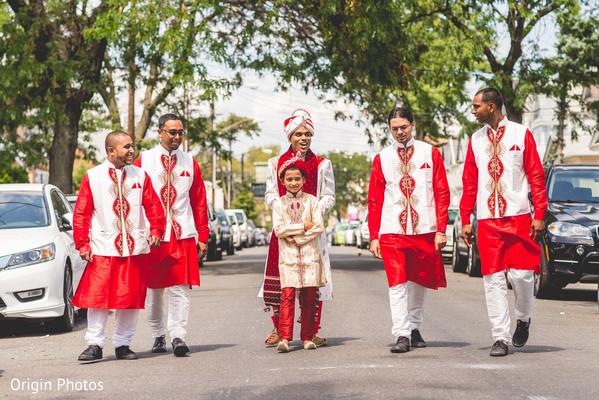 indian groomsmen,baraat,indian groom