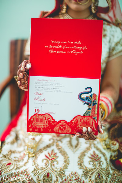 Amazing indian wedding invitations in Great Neck, NY Indian Wedding by Origin Photos