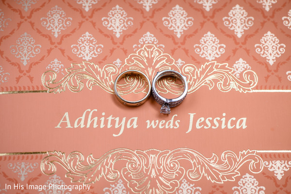 wedding invitations,wedding rings,indian fusion wedding