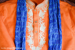 indian groomsmen fashion,orange sherwani,ceremony fashion