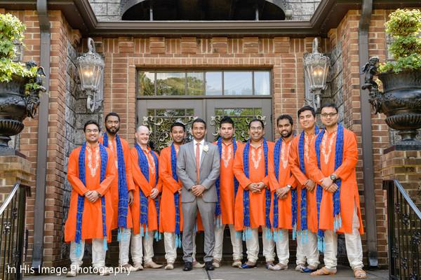 indian groomsmen,indian groom,portrait,indian wedding photography