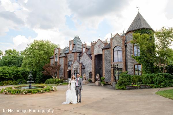 indian bride and groom,indian wedding venue,indian fusion wedding