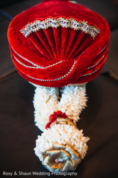 indian groom turban,floral garland