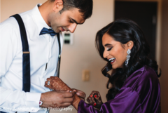 indian bride,getting ready,indian groom