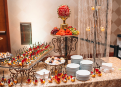 indian wedding reception,cakes and treats,catering