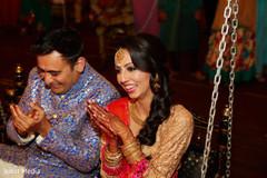 Indian couple having fun