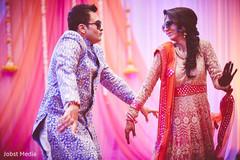 indian bride,indian groom,sangeet