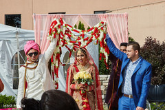indian bride ceremony fashion,indian outdoor wedding,indian wedding ceremony floral and decor