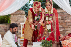 indian wedding ceremony details,indian groom fashion,indian bride and groom