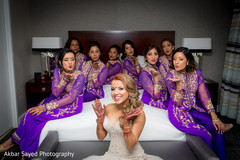 indian bride fashion,indian bride getting ready,indian bridesmaids' fashion