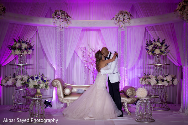 indian wedding reception,indian bride and groom,lighting,indian wedding reception floral and decor