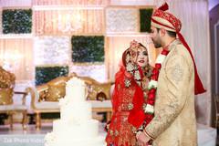 pakistani wedding photography,nikaah,pakistani bride and groom,wedding cake