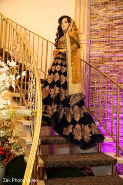 Pakistani bride delightful bridal wear.
