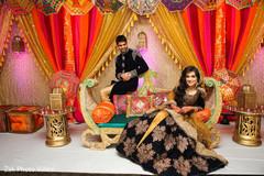 Insanely Pakistani bride and groom beautiful  photo.