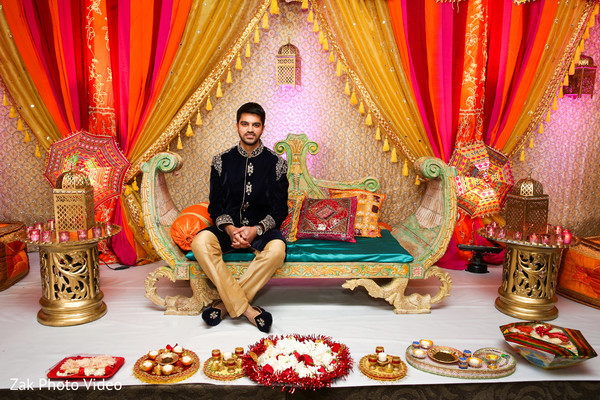 Pakistani groom.