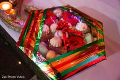 Pakistani wedding trousseau gift packing.