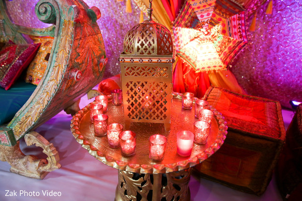Walima decor details.