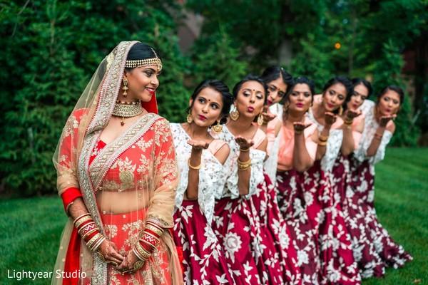 indian bride,indian wedding photography,indian bridesmaids