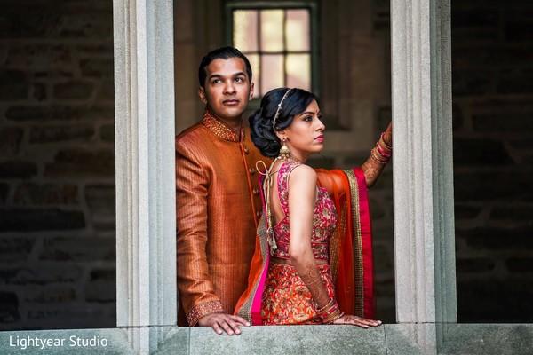 Indian Pre-wedding fashion.
