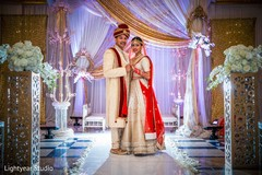 indian wedding photography,indian bride and groom,floral and decor