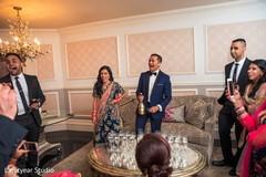indian wedding reception,getting ready
