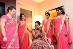 indian bride fashion,indian bride getting ready,bridal jewelry,indian bridesmaids