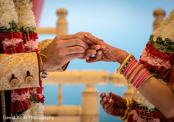Indian wedding ceremony treasured moment