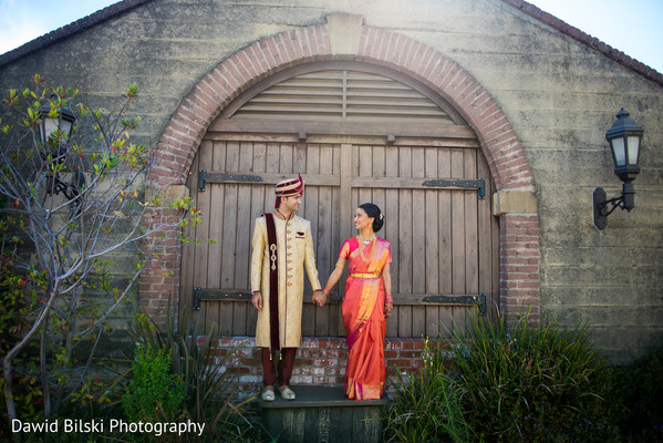 Insanely cute indian bride and groom photo shoot