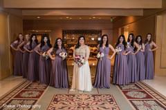 indian bridesmaids' fashion,indian bride fashion,indian bridal bouquet