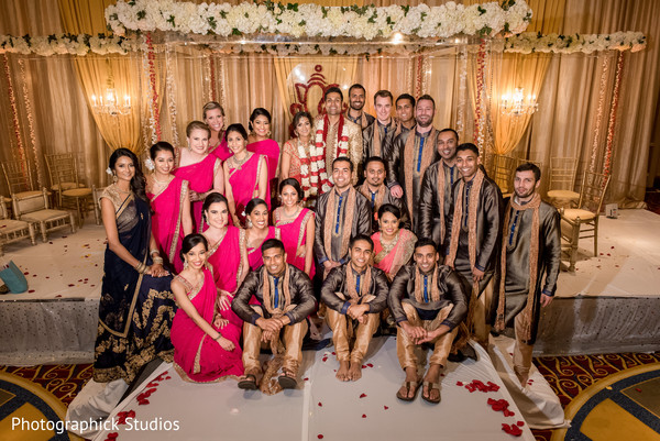indian wedding ceremony photography,indian bride and groom,indian wedding ceremony,indian bridesmaids and groomsmen