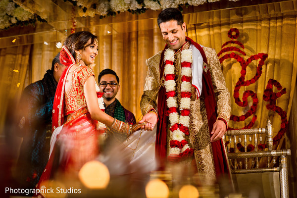 indian wedding ceremony,indian bride fashion,indian groom fashion,saptapadi ritual