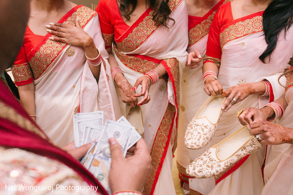 indian bridesmaids,indian bridesmaids' fashion,indian groom shoes