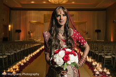 indian bride fashion,indian bride lengha,bridal jewelry,indian bridal bouquet