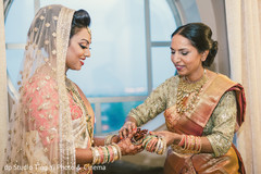 indian bride,getting ready,bridal fashion,hair and makeup