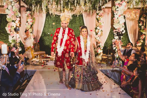 Indian newlyweds.