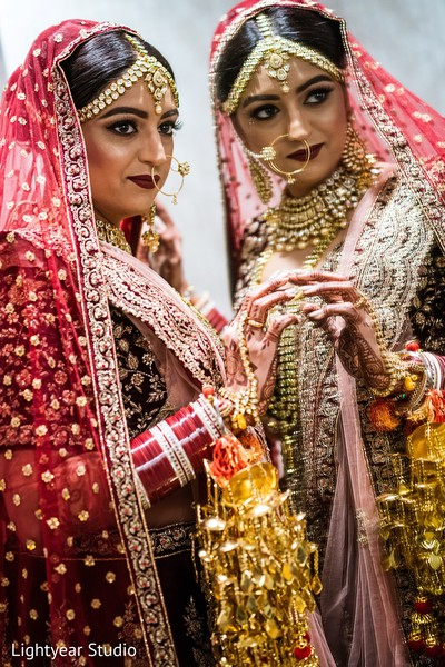 Beautiful Indian bride style.