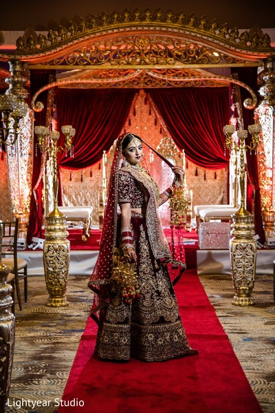 Insanely beautiful Indian bride.