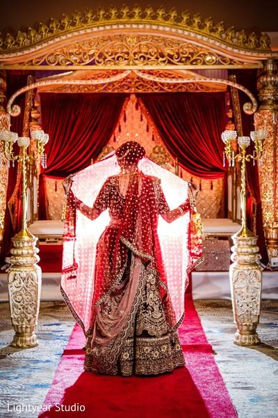 Glamorous Indian bride.
