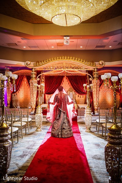 Indian bride breathtaking portrait.