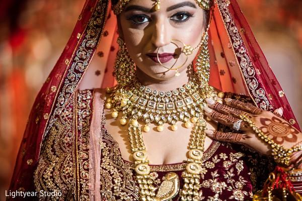 Kundan bridal jewelry.