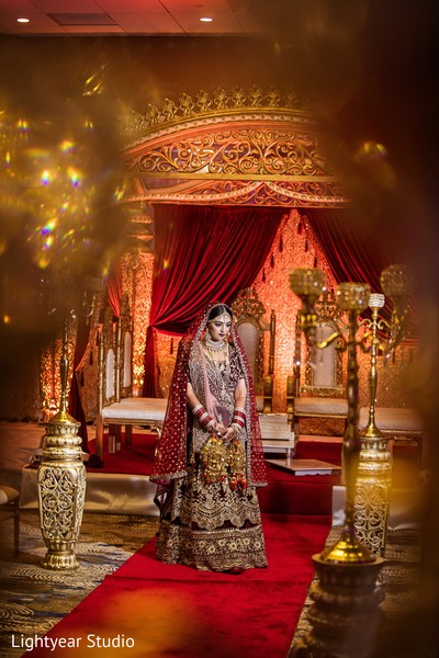 Dreamy Indian bride photography.