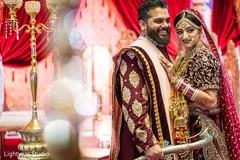 indian bride and groom,indian wedding photography,wedding ceremony fashion